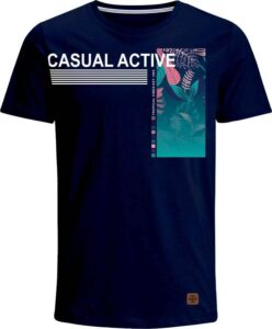 Nexxos Studio - Camiseta para Hombre de Lycra Manga Corta  Nexxos 39376