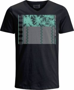 Nexxos Studio - Camiseta para Hombre de Esmerilado Manga Corta  Nexxos 39438