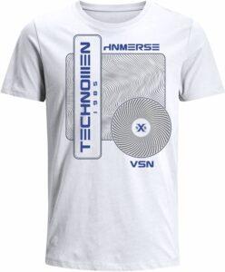 Nexxos Studio - Camiseta para Hombre de Algodón Manga Corta  Nexxos 39524