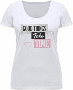 Nexxos Studio - Camiseta para Dama de Algodón Manga Corta  Nexxos 61858