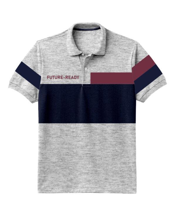 Nexxos Studio - Camiseta para Hombre Tipo Polo en Tejido Fraccionado 96% Algodón 4% Elastano Manga Corta Nexxos 39399-018