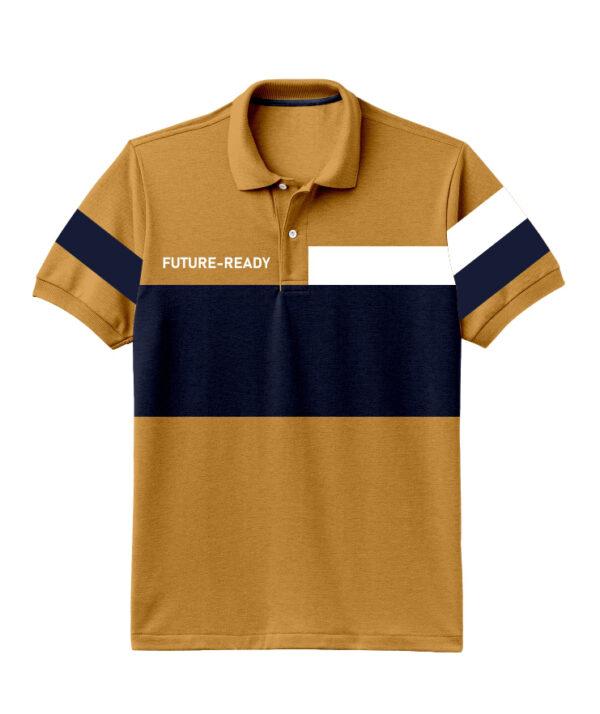 Nexxos Studio - Camiseta para Hombre Tipo Polo en Tejido Fraccionado 96% Algodón 4% Elastano Manga Corta Nexxos 39399-067