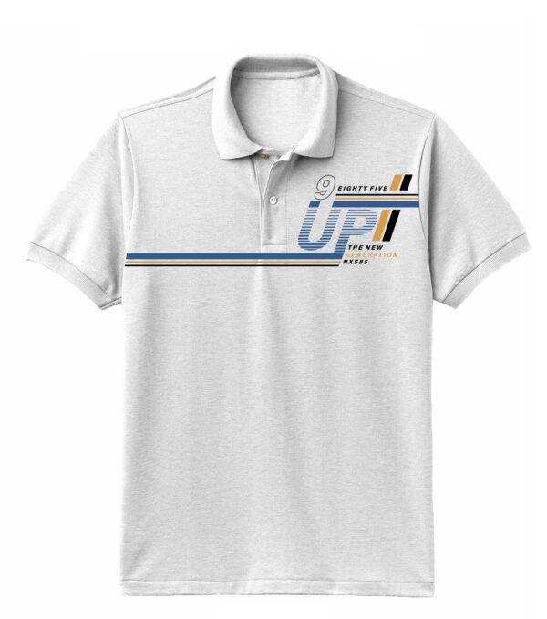 Nexxos Studio - Camiseta para Hombre Tipo Polo en Tejido Fraccionado 96% Algodón 4% Elastano Manga Corta Nexxos 39612