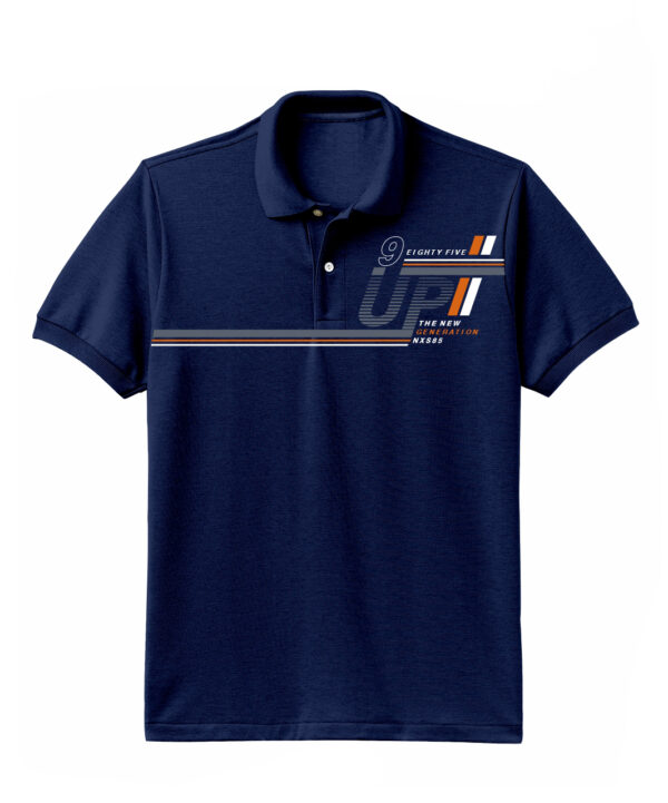 Nexxos Studio - Camiseta para Hombre Tipo Polo en Tejido Fraccionado 96% Algodón 4% Elastano Manga Corta Nexxos 39612-005