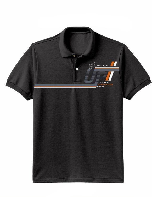 Nexxos Studio - Camiseta para Hombre Tipo Polo en Tejido Fraccionado 96% Algodón 4% Elastano Manga Corta Nexxos 39612-008
