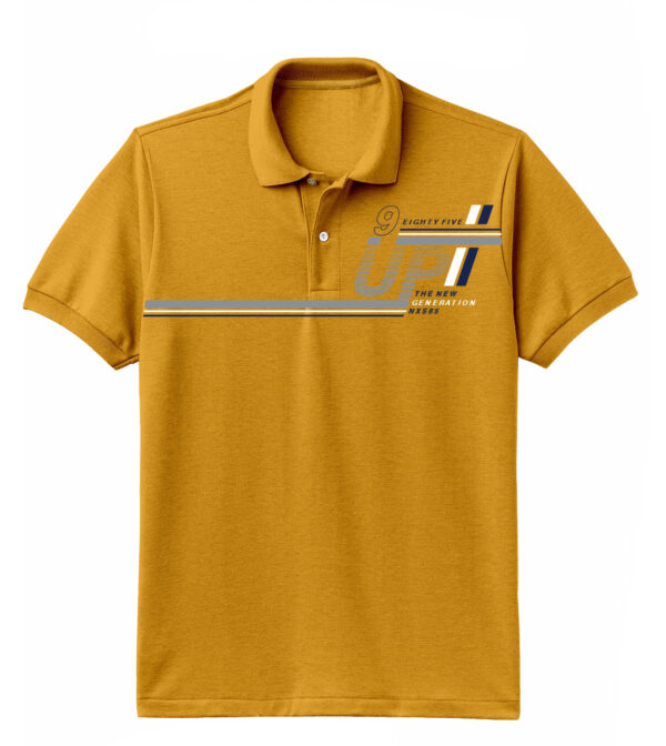 Nexxos Studio - Camiseta para Hombre Tipo Polo en Tejido Fraccionado 96% Algodón 4% Elastano Manga Corta Nexxos 39612-067