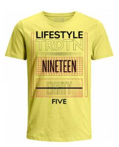 Nexxos Studio - Camiseta para Hombre Tejido de Punto 100% Algodón Tubular Manga Corta Nexxos 39616-080