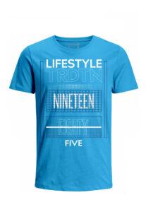 Nexxos Studio - Camiseta para Hombre Tejido de Punto 100% Algodón Tubular Manga Corta Nexxos 39616-395