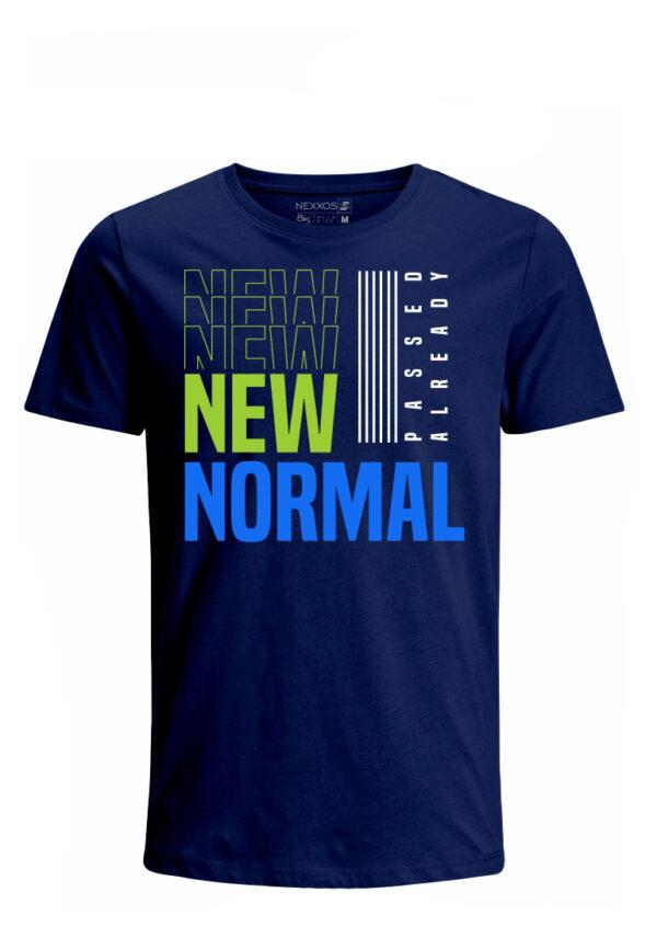 Nexxos Studio - Camiseta para Hombre Tejido de Punto 100% Algodón Tubular Manga Corta Nexxos 39619-005