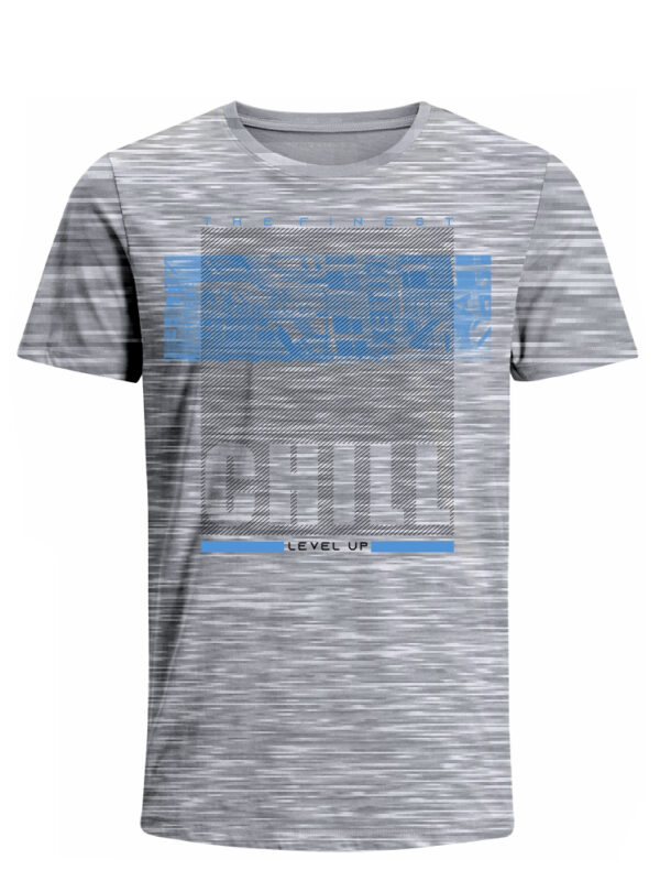 Nexxos Studio - Camiseta para Hombre Tejido de Punto 100% Algodón Tubular Manga Corta Nexxos 39620-422