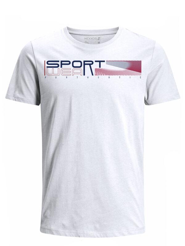 Nexxos Studio - Camiseta para Hombre Tejido de Punto 96% Algodón 4% Elastano Manga Corta Nexxos 39624