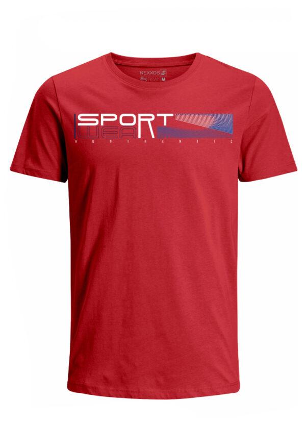 Nexxos Studio - Camiseta para Hombre Tejido de Punto 96% Algodón 4% Elastano Manga Corta Nexxos 39624-001