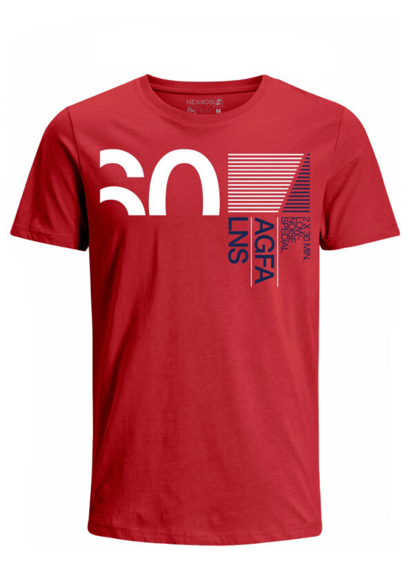 Nexxos Studio - Camiseta para Hombre Tejido de Punto 96% Algodón 4% Elastano Manga Corta Nexxos 39625-001
