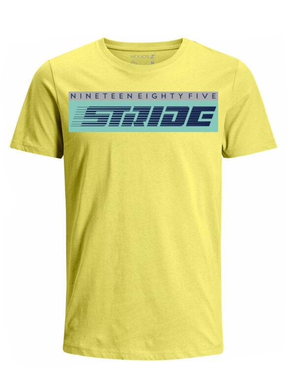 Nexxos Studio - Camiseta para Hombre Tejido de Punto 100% Algodón Peinado Abierto Manga Corta Nexxos 39628-080