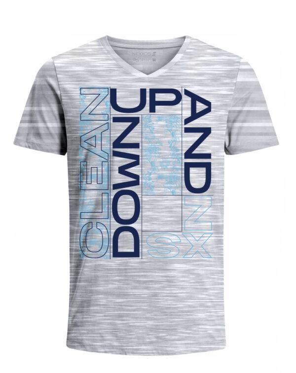 Nexxos Studio - Camiseta para Hombre Tejido de Punto 100% Algodón Tubular Manga Corta Nexxos 39633-422