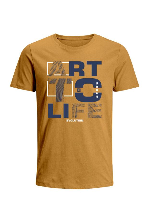 Nexxos Studio - Camiseta para Hombre Tejido de Punto 100% Algodón Tubular Manga Corta Nexxos 39635-067