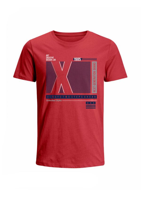 Nexxos Studio - Camiseta para Hombre Tejido de Punto 96% Algodón 4% Elastano Manga Corta Nexxos 39639-001