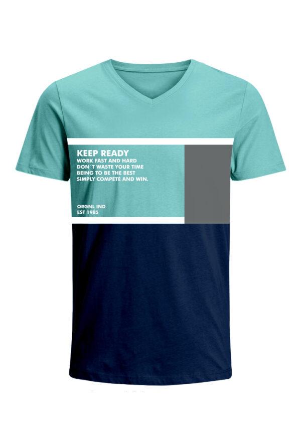 Nexxos Studio - Camiseta para Hombre Tejido de Punto 96% Algodón 4% Elastano Manga Corta Nexxos 39649-410