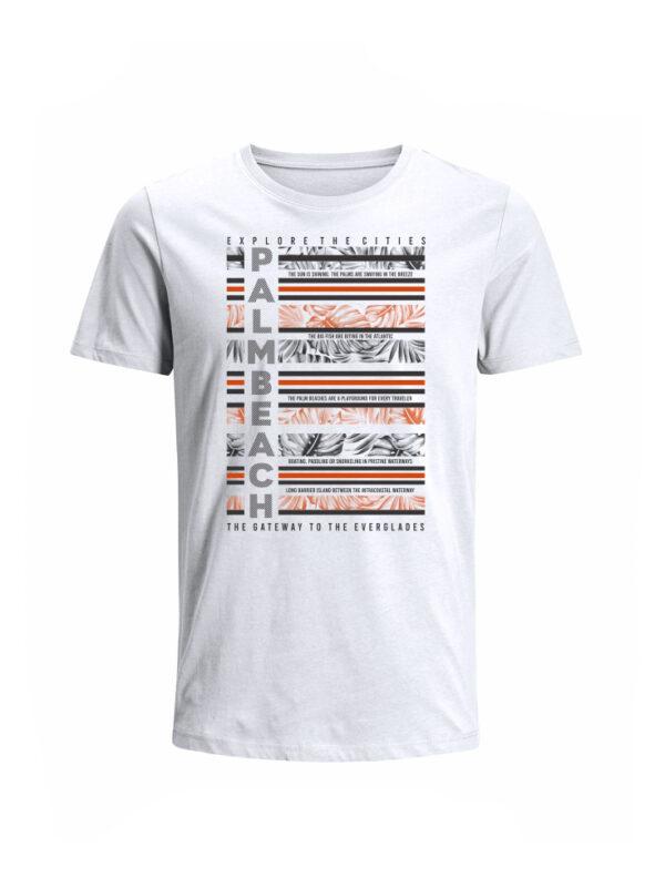Nexxos Studio - Camiseta para Hombre Tejido de Punto 100% Algodón Tubular Manga Corta Nexxos 39652-000