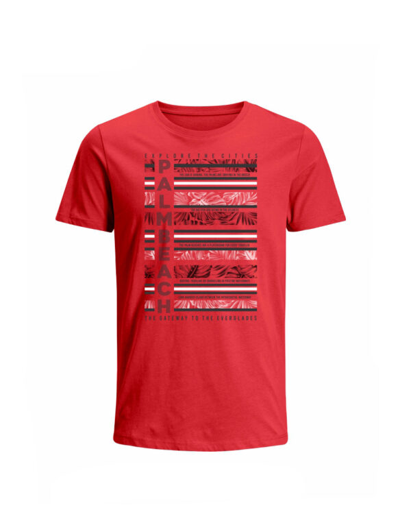 Nexxos Studio - Camiseta para Hombre Tejido de Punto 100% Algodón Tubular Manga Corta Nexxos 39652-001