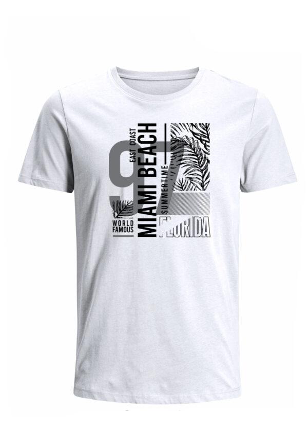 Nexxos Studio - Camiseta para Hombre Tejido de Punto 100% Algodón Peinado Abierto Manga Corta Nexxos 39653-000
