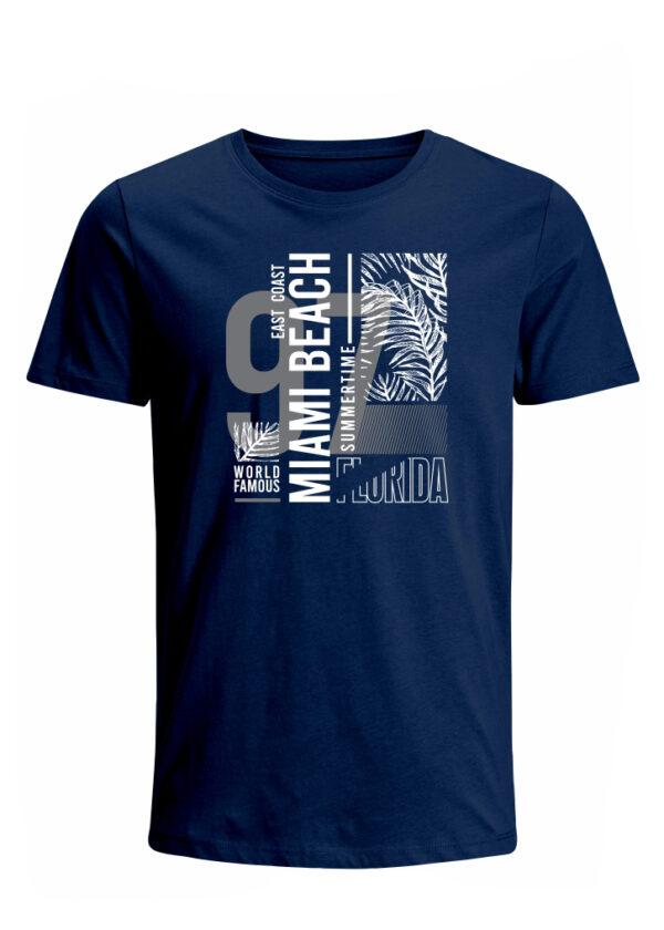 Nexxos Studio - Camiseta para Hombre Tejido de Punto 100% Algodón Peinado Abierto Manga Corta Nexxos 39653-005
