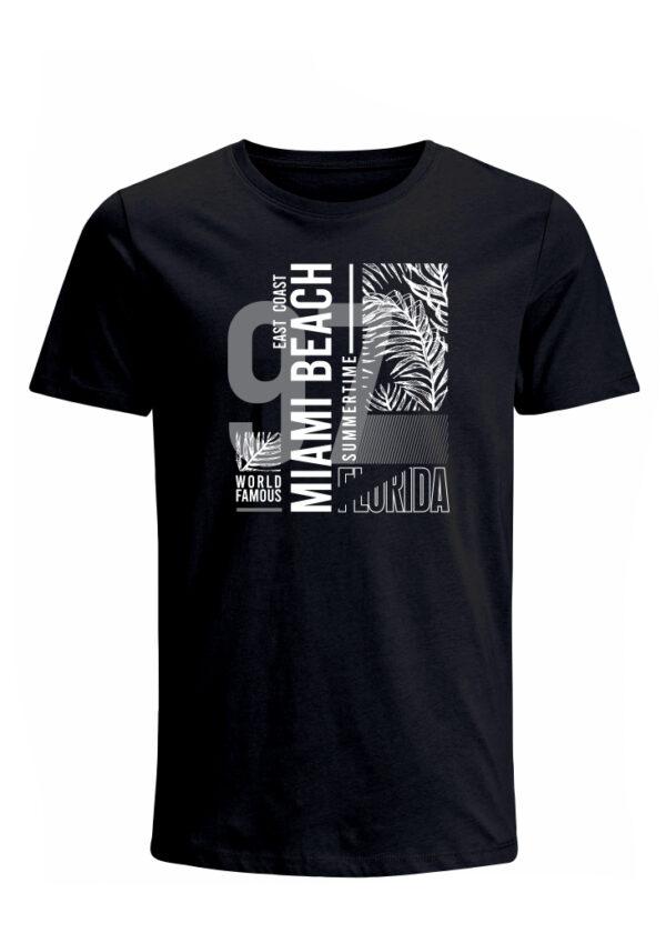 Nexxos Studio - Camiseta para Hombre Tejido de Punto 100% Algodón Peinado Abierto Manga Corta Nexxos 39653-008