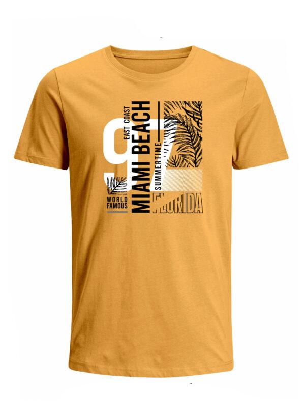 Nexxos Studio - Camiseta para Hombre Tejido de Punto 100% Algodón Peinado Abierto Manga Corta Nexxos 39653-067