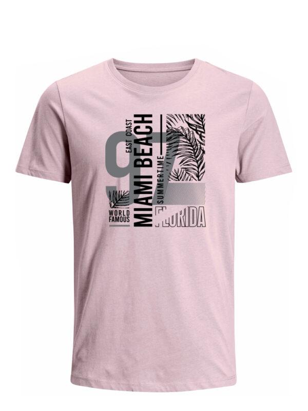 Nexxos Studio - Camiseta para Hombre Tejido de Punto 100% Algodón Peinado Abierto Manga Corta Nexxos 39653-420