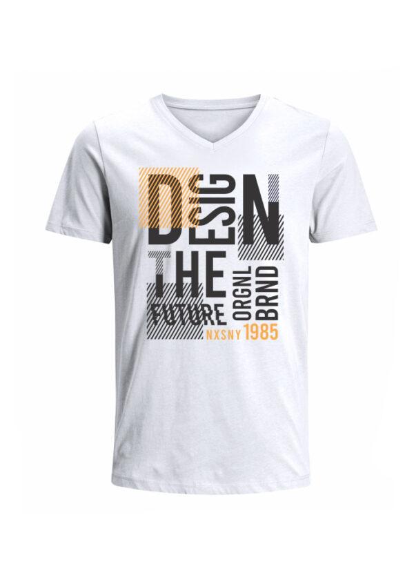Nexxos Studio - Camiseta para Hombre Tejido de Punto 100% Algodón Tubular Manga Corta Nexxos 39659