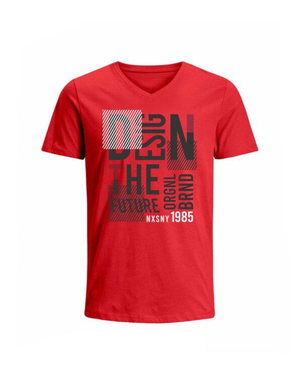 Nexxos Studio - Camiseta para Hombre Tejido de Punto 100% Algodón Tubular Manga Corta Nexxos 39659-001