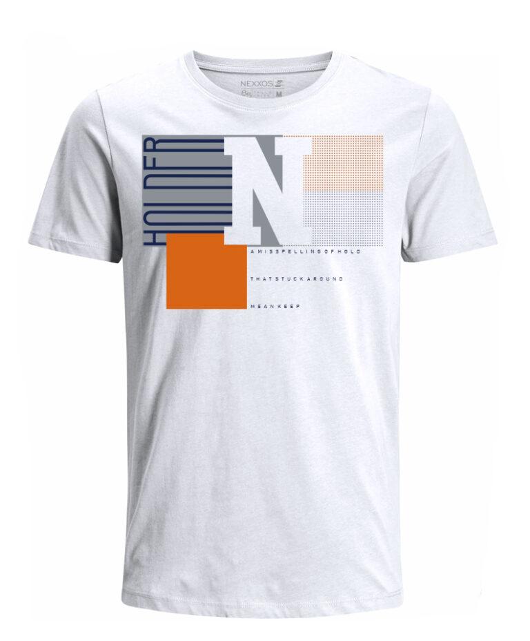 Nexxos Studio - Camiseta para Niño Tejido de Punto 96% Algodón 4% Elastano Manga Corta Nexxos 45284-000