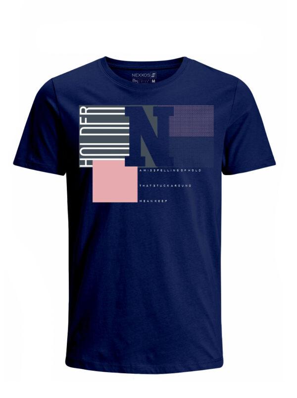Nexxos Studio - Camiseta para Niño Tejido de Punto 96% Algodón 4% Elastano Manga Corta Nexxos 45284-005