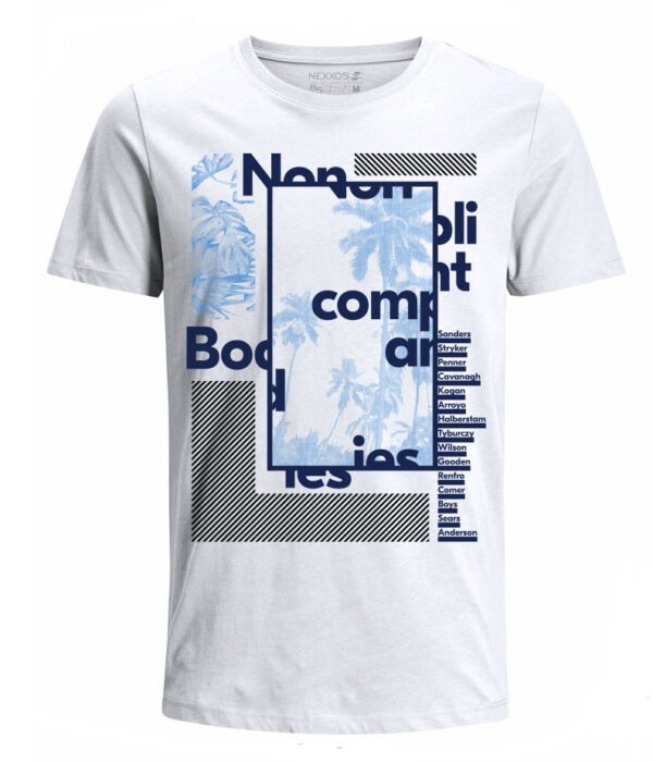 Nexxos Studio - Camiseta para Niño Tejido de Punto 100% Algodón Tubular Manga Corta Nexxos 45290-000