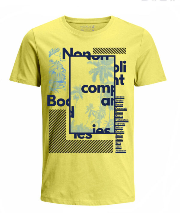 Nexxos Studio - Camiseta para Niño Tejido de Punto 100% Algodón Tubular Manga Corta Nexxos 45290-080