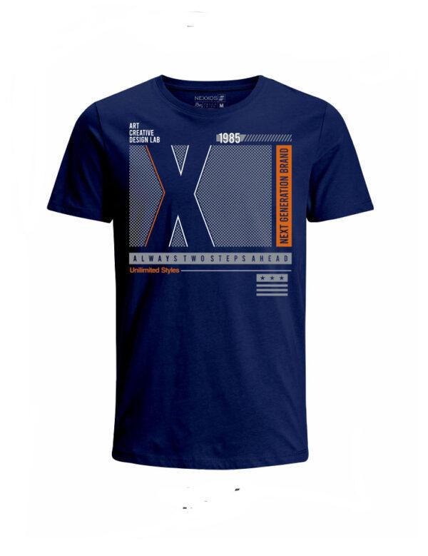 Nexxos Studio - Camiseta para Niño Tejido de Punto 96% Algodón 4% Elastano Manga Corta Nexxos 45315-005