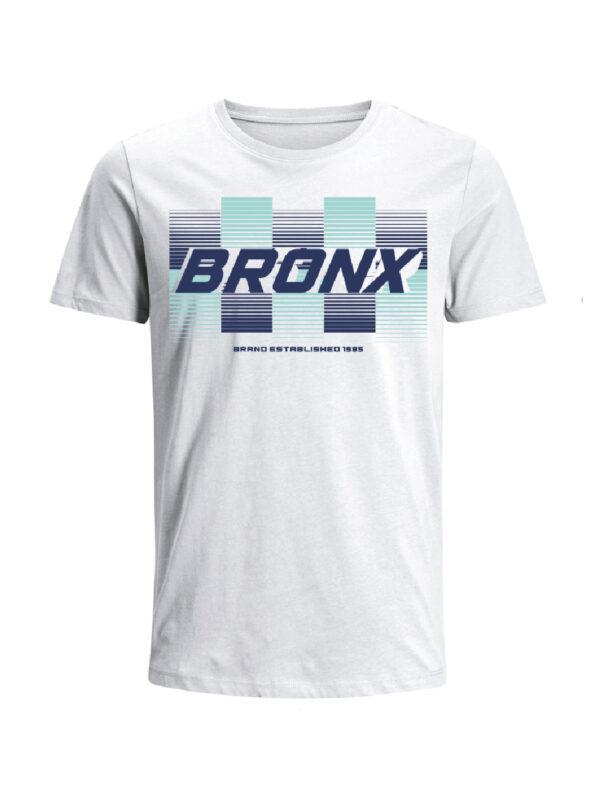 Nexxos Studio - Camiseta Codigo Bronxs para hombre en Tejido De Punto 96% Algodón 4% Elastano Manga Corta marca Nexxos 100109-000