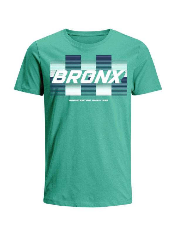 Nexxos Studio - Camiseta Codigo Bronxs para hombre en Tejido De Punto 96% Algodón 4% Elastano Manga Corta marca Nexxos 100109-410