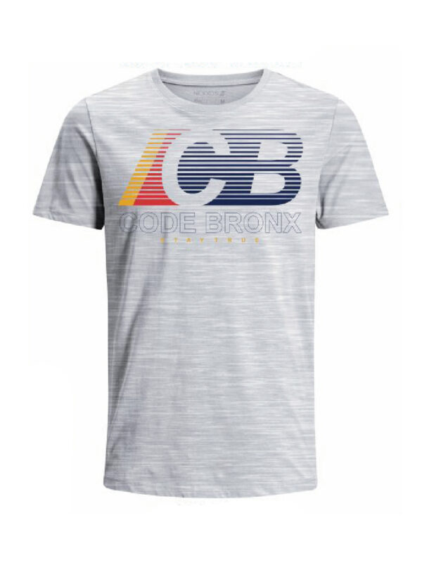 Nexxos Studio - Camiseta Codigo Bronxs para hombre en Tejido De Punto 100% Algodón Peinado Abierto Manga Corta marca Nexxos 100113-018