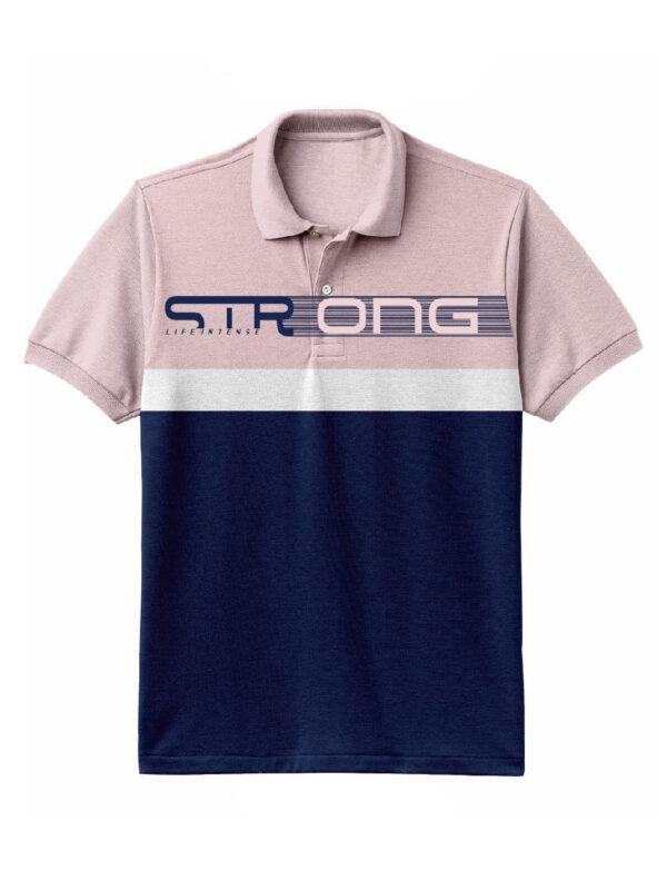 Nexxos Studio - Camiseta para hombre en Tejido Fraccionado 96% Algodón 4% Elastano Manga Corta marca Nexxos 39670-420