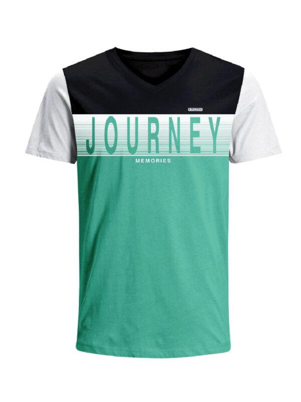 Nexxos Studio - Camiseta para hombre en Tejido De Punto 96% Algodón 4% Elastano Manga Corta marca Nexxos 39681-008