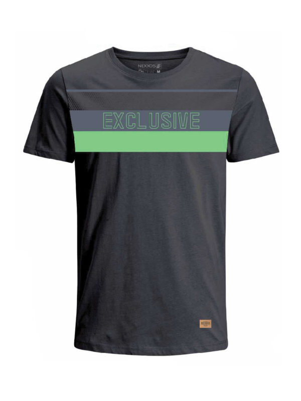 Nexxos Studio - Camiseta para hombre en Tejido De Punto 96% Algodón 4% Elastano Manga Corta marca Nexxos 39684-008