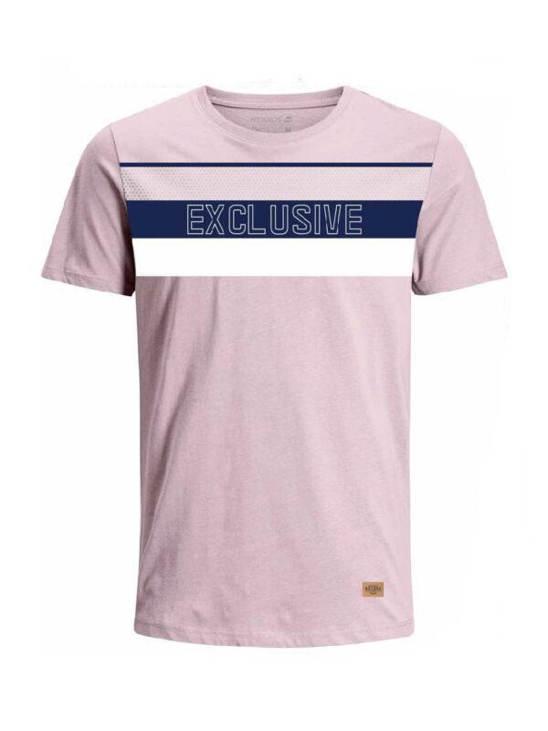 Nexxos Studio - Camiseta para hombre en Tejido De Punto 96% Algodón 4% Elastano Manga Corta marca Nexxos 39684-420