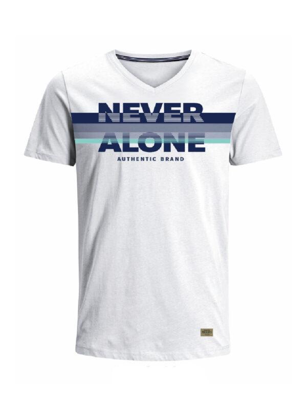 Nexxos Studio - Camiseta para hombre en Tejido De Punto 96% Algodón 4% Elastano Manga Corta marca Nexxos 39685-000