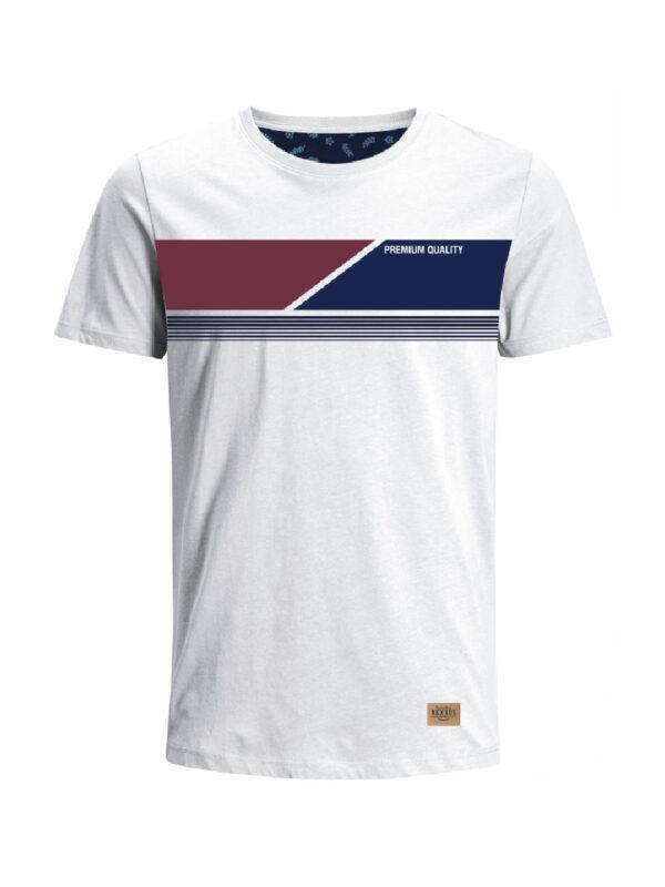Nexxos Studio - Camiseta para hombre en Tejido De Punto 96% Algodón 4% Elastano Manga Corta marca Nexxos 39761-000