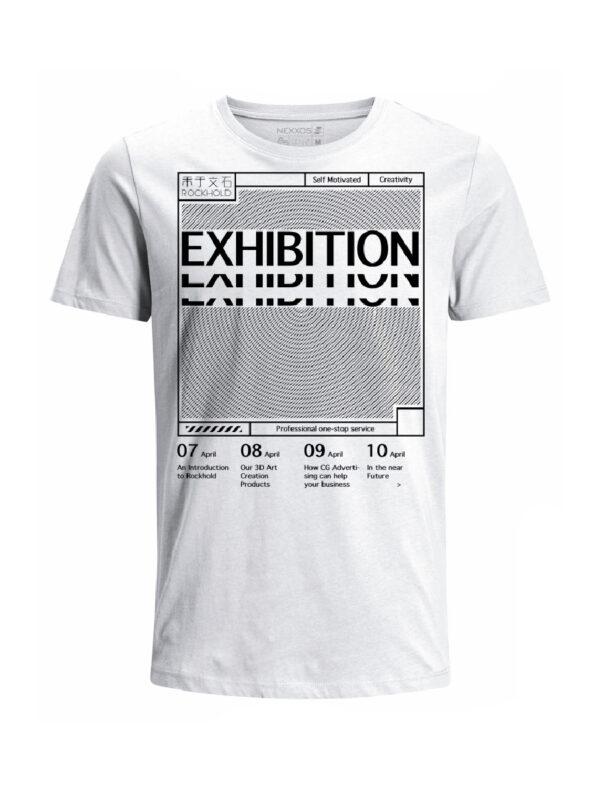 Nexxos Studio - Camiseta para hombre en Tejido De Punto 100% Algodón Tubular Manga Corta marca Nexxos 39766