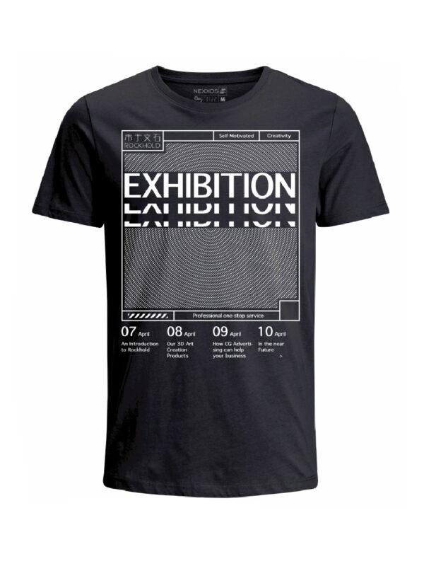 Nexxos Studio - Camiseta para hombre en Tejido De Punto 100% Algodón Tubular Manga Corta marca Nexxos 39766-008