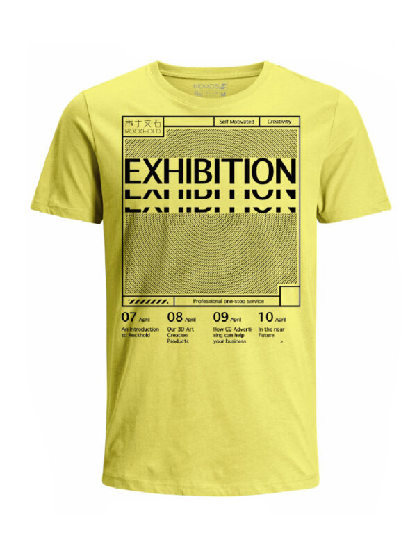 Nexxos Studio - Camiseta para hombre en Tejido De Punto 100% Algodón Tubular Manga Corta marca Nexxos 39766-080
