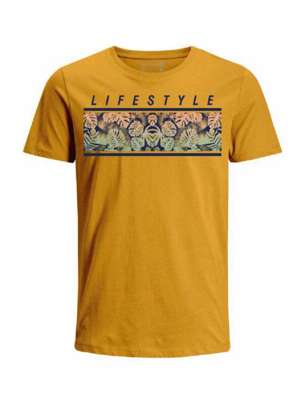 Nexxos Studio - Camiseta para hombre en Tejido De Punto 100% Algodón Peinado Abierto Manga Corta marca Nexxos 39772-067