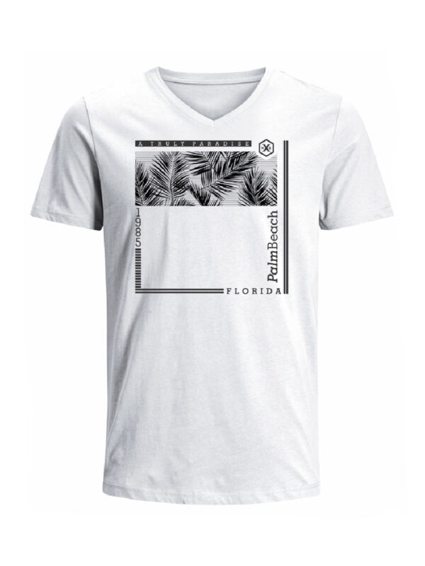 Nexxos Studio - Camiseta para hombre en Tejido De Punto 100% Algodón Peinado Abierto Manga Corta marca Nexxos 39787